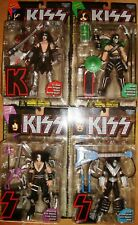 KISS ULTRA-ACTION FIGURE McFARLANE TOYS 1997 PAUL STANLEY/GENE SIMMONS/ACE/PETER