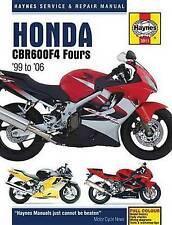 Honda CBR600 F4 Motorcycle Service and Repair Manual (Haynes Service & Repair Ma