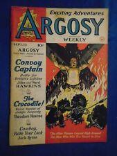 Argosy 3 Issue Lot 1941