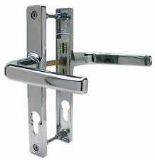Ferco 70mm Polished Chrome UPVC Door Handle / Lever Lever / Sprung - DH4720