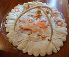 Palestrina Azur - Tappeto con orsetti 135 cm, multiattività per bimbi 3-18 mesi