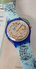 Swatch Automatic SAN101 Mappamondo - MIB - 1993