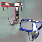 Fully Adjustable Stainless Steel Female Chastity Belt Metal Device Cable Lock