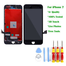 UK for iPhone 7 LCD Display Digitizer Touch Screen Replacement Assembly Black