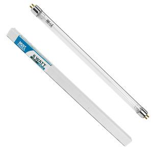 TWIN PACK 8W 8 WATT POND FILTER UV/UVC BULB TUBE LIGHT LAMP G4T5 ULTRA VIOLET
