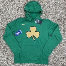 Nike NBA City Edition Hoodie Boston Celtics Size XL Mens Green