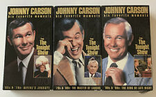 Johnny Carson: His Favorite Moments The Tonight Show 70s 80s & 90s (3 VHS)