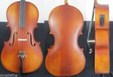 4/4 New Electric Cello powerful Sound Solid Wood Maple & SPruce#11129
