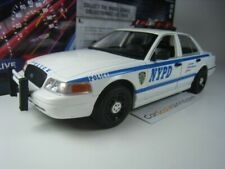 Ford crown victoria police interceptor nypd greenlight 1/24 2011