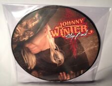 LP JOHNNY WINTER Step Back PICTURE DISC 2014 NEW MINT