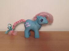 Vintage Pony 1984 Baby Bowtie My Little Hasbro G1 MLP Rosa Hair & arcos ML47