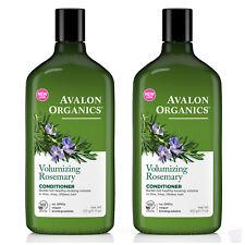 PACK of 2 Avalon Organics volumizing ROSEMARY CONDITIONER, 325ml each