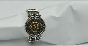 Men's Excellent 925 Sterling Silver Ring Of Ancient Lion with Pattern