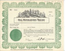 Continental National Bank Stock Certificate Fort Worth Texas