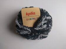 Katia yarn ZARINA - boucle ribbon yarn / boucle yarn, multicolor yarn/ 50g ball