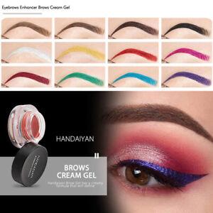 Professional Makeup Waterproof Eyebrow Definition Cream Eye Brow Gel 12 Colors