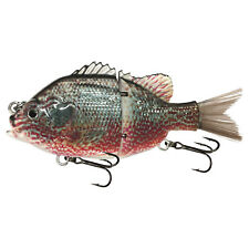 """KDS Custom Slow Sinking Jointed 4.5"""" Multi Section Swimbait - P2 Pumpkinseed"""
