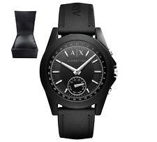 Genuine A X  Armani Exchange AXT1001 Unisex Hybrid Connected Smart BLACK Watch