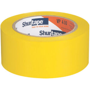 Shurtape VP-410 Vinyl Film Tape: 2 in. x 36 yds. (Yellow) *branded