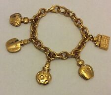 Rare Vintage Christian Dior Perfume Charm Bracelet Dune Poison Miss Dior Dulce