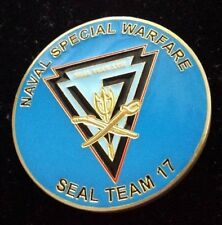 Naval Special Warfare Seal Team 17 Commanding Officers Challenge Coin Scarce