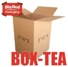 10x Tea Chest Moving Box 430x400x600mm Cardboard Carton Removalist