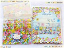 🌸 Sanrio HELLO KITTY STRANGE Stationery letter set papier carta lettere 2001NEW