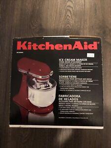 KitchenAid KICA0WH 8qt. Ice Cream Maker Attachment