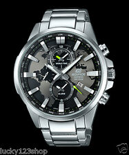 EFR-303D-1A Black Casio Edifice Men's Watch Stainless Band Analog Brand-New 100m