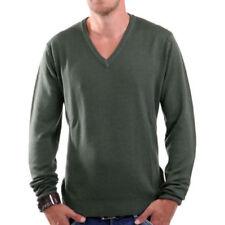 Maglioni e cardigan da uomo verde in lana taglia XL