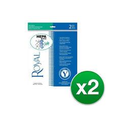 Genuine Vacuum Bag for Royal CR50005 / UR30085 Vacuums - 2 Pack