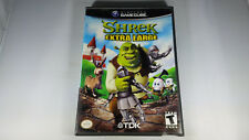 SHREK EXTRA LARGE gamecube GC Super Nintendo entertainment system 2002