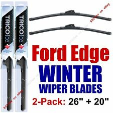 2007-2014 Ford Edge WINTER Wiper Blades 2-Pack Wipers Snow / Ice - 35260/35200