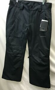 Obermeyer Mens Orion Pant 25007 Black Size Extra Small