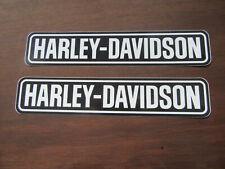 2 x Harley Davidson Motorrad Aufkleber -  2 Harley Davidson Motorcycle stickers