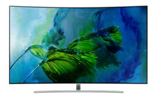 "55"" Samsung Qe55q8c QLED Curved TV"