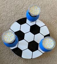 For Boys Football Shape Kids Room Lighting