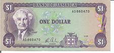 JAMAICA, $1, 1985,UNC