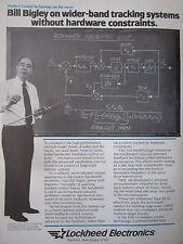 4/1982 PUB LOCKHEED ELECTRONICS BILL BIGLEY MODERN CONTROL TECHNOLOGY AD