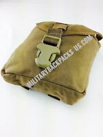 NEW USMC Coyote Brown ammo clip mag magazine Pouch bag Military Issued MOLLE II