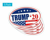 5 Pack *Oval Car Magnet* Trump 2020 Trump A TO438