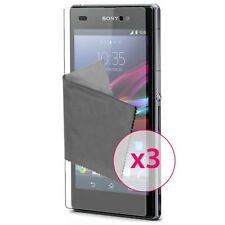 Films de protection Anti-Reflet HD pour Sony Xperia Z1 (L39H) ® x3