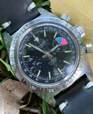 Orologio Watch Careny Skin Diver Chronograph Valjoux 7733 Swiss Made
