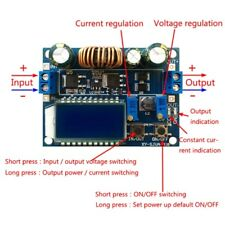 4A Buck-Boost Converter Module Adjustable Buck Boost Board With LCD Display New