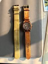 Tudor Black Bay Bronze 2015 79250BM Aged Leather 43MM Patina Watch