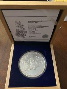 10 oz Silver Czech Lion 2017