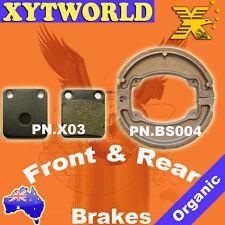 FRONT REAR Brake Pads Shoes for Honda CG 150 Titan 2004-2005