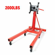 900kg 2000LB Folding Engine Stand Heavy Duty Industrial Workshop Car Crane Hoist