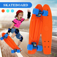 Complete Fish Skateboards for Beginners Kick Skate Board for Boys Girls Kids
