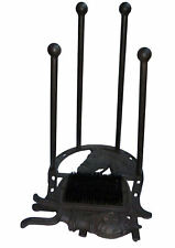 Traditional Boot Stand Jack Scraper & Brush Wellies Shoes Remover Cleaner Black